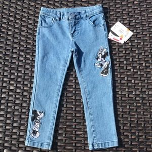 Disney Minnie & Mickey jeans